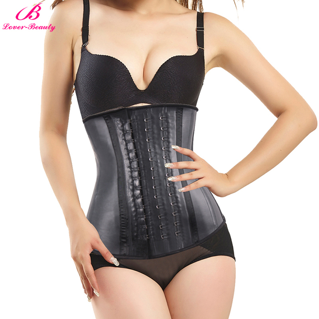 Lover Beauty corset amincissant en Latex, gaine dentraînement de taille, sculpteur du corps, en acier, corset pour femmes, perte de poids, 100%