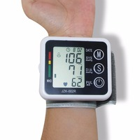 Health Care Electronic Wrist Blood Pressure Monitor LCD Digital Display Sphygmomanometer Heartbeat Pulse Health Monitors