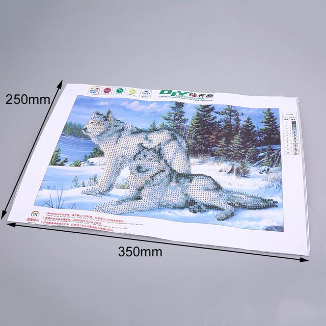 2017 Hot DIY Diamonds Crystal Point Drill Diamond Painting Cross Stitch Kits Diamond Mosaic for Your Bedrooom Home Decoration