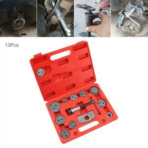 13 unids/set pinza de freno de disco de coche freno trasero pistón compresor Kit de herramienta de regulación con pistón de freno reemplazable