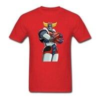 UFO Robot Grendizer Men T Shirt Cool T Shirt Man Short Sleeve O Neck Plus Size