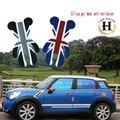 Para Mini Cooper Acessórios Porta Anti colisão Adesivo Decalque Urso União Jack Compatriota Clubman R55 R56 R57 R58 R59 R60 F55 F56