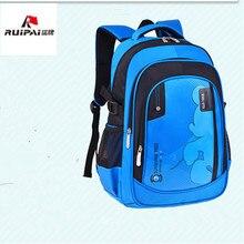 Новинка 2017 Детские Ранцы ортопедические школьный рюкзак для мальчиков и девочек водонепроницаемые школьные Портфель Дети школьный рюкзак Mochila