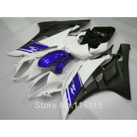 Lowest price fairing kit for YAMAHA YZF R6 2006 2007 white black blue fairings YZF R6 06 07 Injection molding NB083