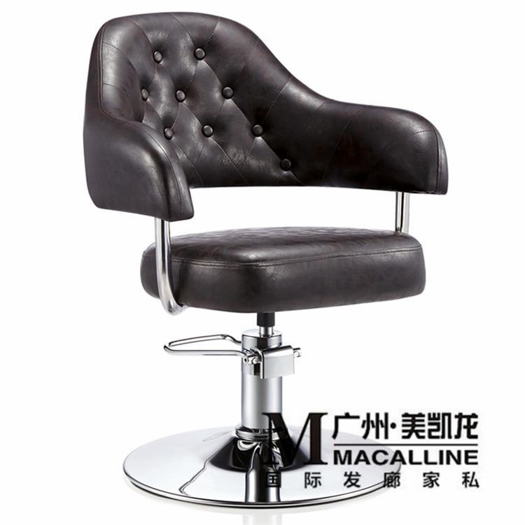 Haar Friseur Stuhl/kosmetik Schönheit Hydraulische Hebe Haarschnitt Sessel üBerlegene Materialien Spezielle Friseurstuhl