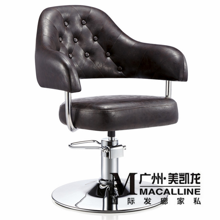 Hairdressing chair/cosmetic beauty. Hair, special barber chair. Hydraulic lifting haircut chair