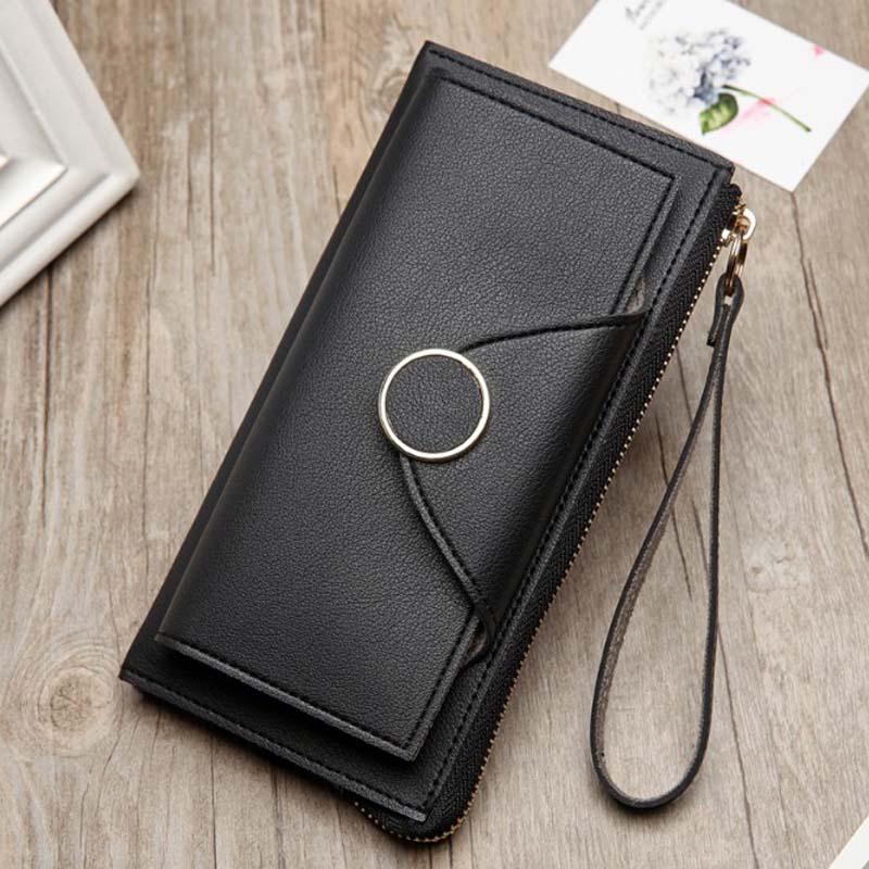 Ny plånbok damer klänning mode Koreanska Ladies Wallet Zipper hasp - Plånböcker