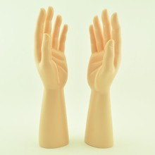 New arrival! one pair  PE Male mannequin hand realistic Manikin hands for gloves& bracelet& ring & jewelry display