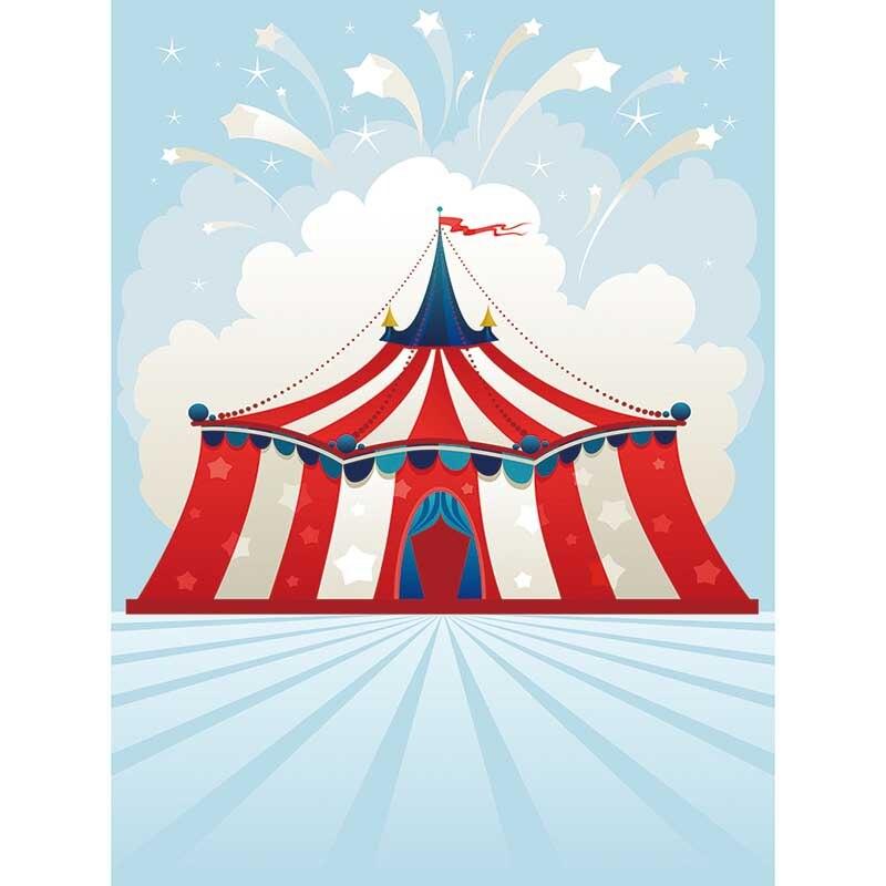 Allenjoy Fotografia Backdrops Desenho Animado Sevilla Tenda Circo