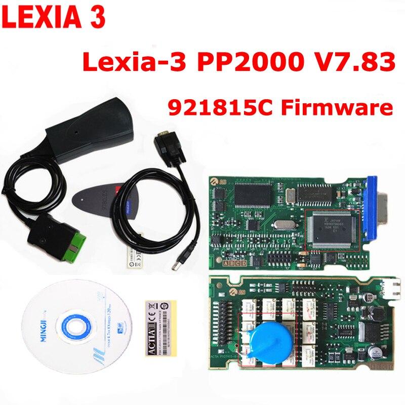Lexia3 921815C Firmware Lexia PP2000 V48/V25 Lexia 3 Diagbox 7.83 pour Citroen/pour Peugeot Lexia-3 Outil De Diagnostic