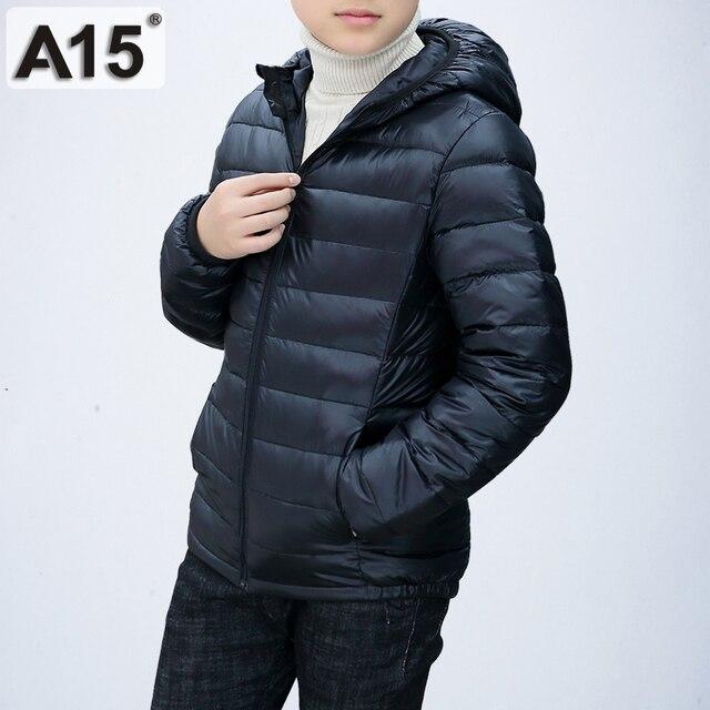 low priced 5dd33 b54e5 US $15.9 40% di SCONTO Bambini Giacca Invernale per la Ragazza 2018 Bambino  Ragazzo Giacca Ragazzi Adolescenti abbigliamento Per Bambini del Cappotto  ...