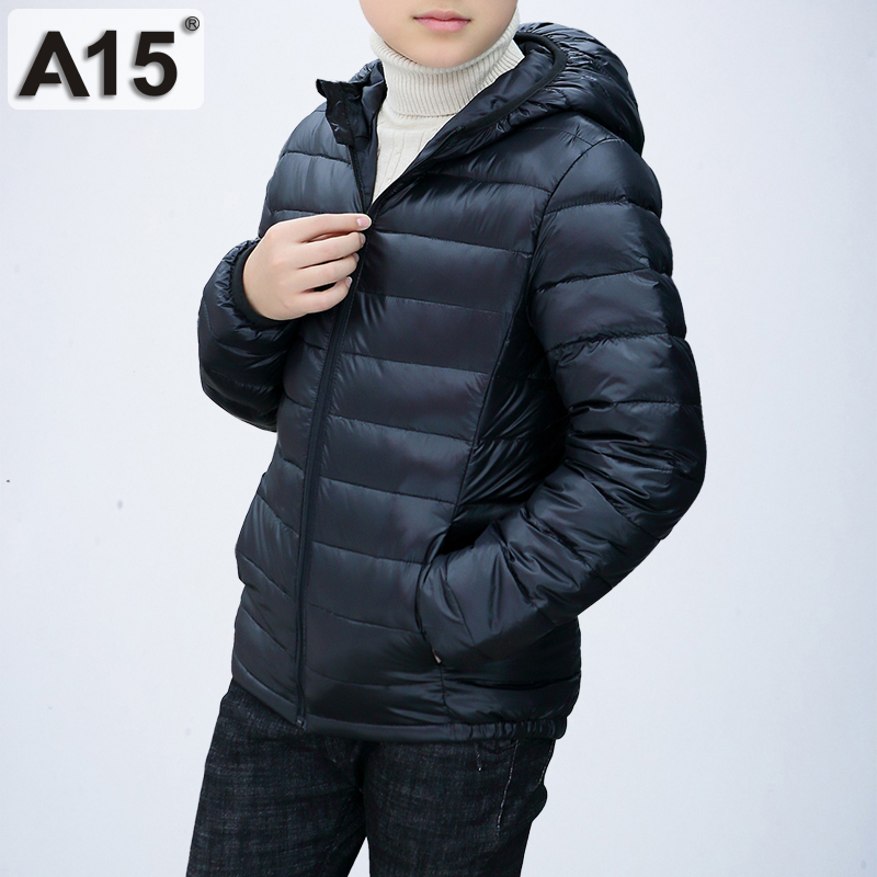 Kids Winter Jacket for Girl 2018 Toddler Boy Jacket Teenage Boys Clothing Children Warm Outerwear Coat Big Size 10 12 14 16 Year