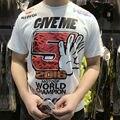 Tops & Tees Nueva Ropa 100% Algodón MOTOGP Motocicleta Repsol MARC Márquez de La Camiseta 93 Camiseta de Verano Camiseta Ocasional Camisetas
