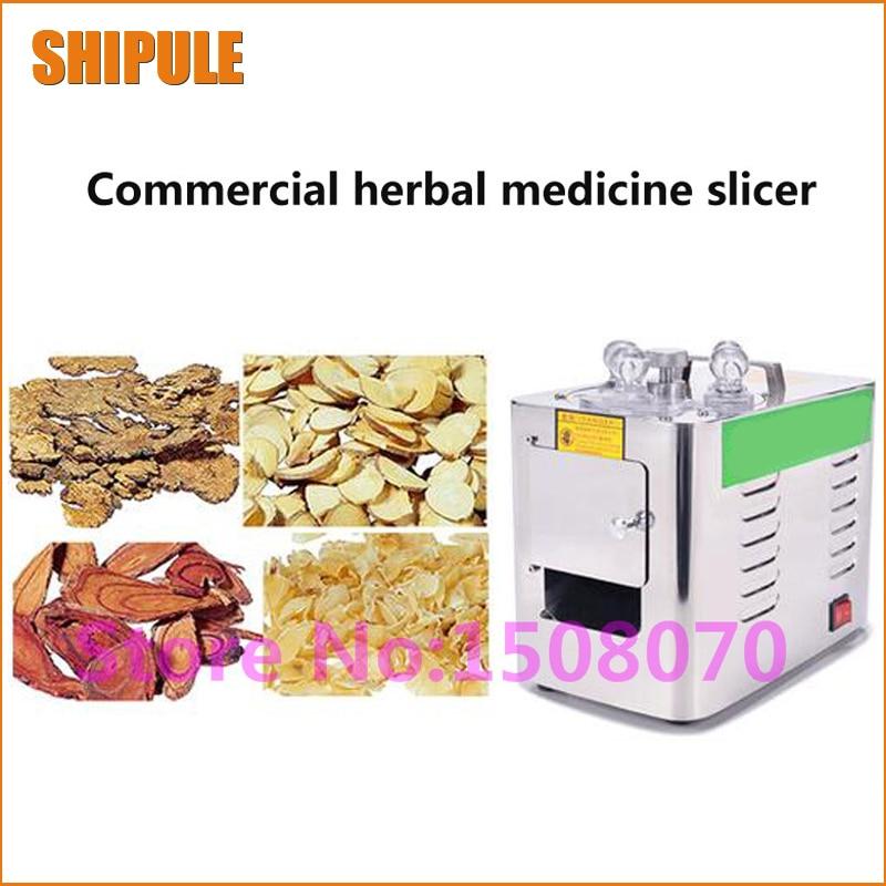 все цены на Hot SHIPULE 2017 Manufacture 400-800/time American ginseng herb slicer/herb cutter/chinese medicine slicing machine онлайн
