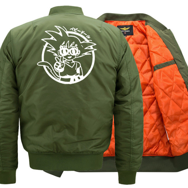 Dragon Ball Goku Bomber Jacket