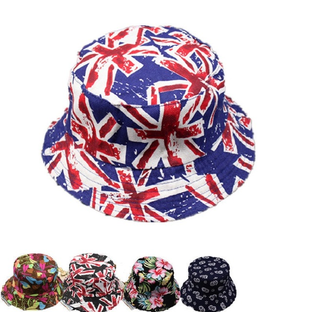 1f8c293437d Fashion Women Reversible Foldable Floral Printing Bucket Hat Floppy Two  Sides Can Wear Bob Cap Fisherman
