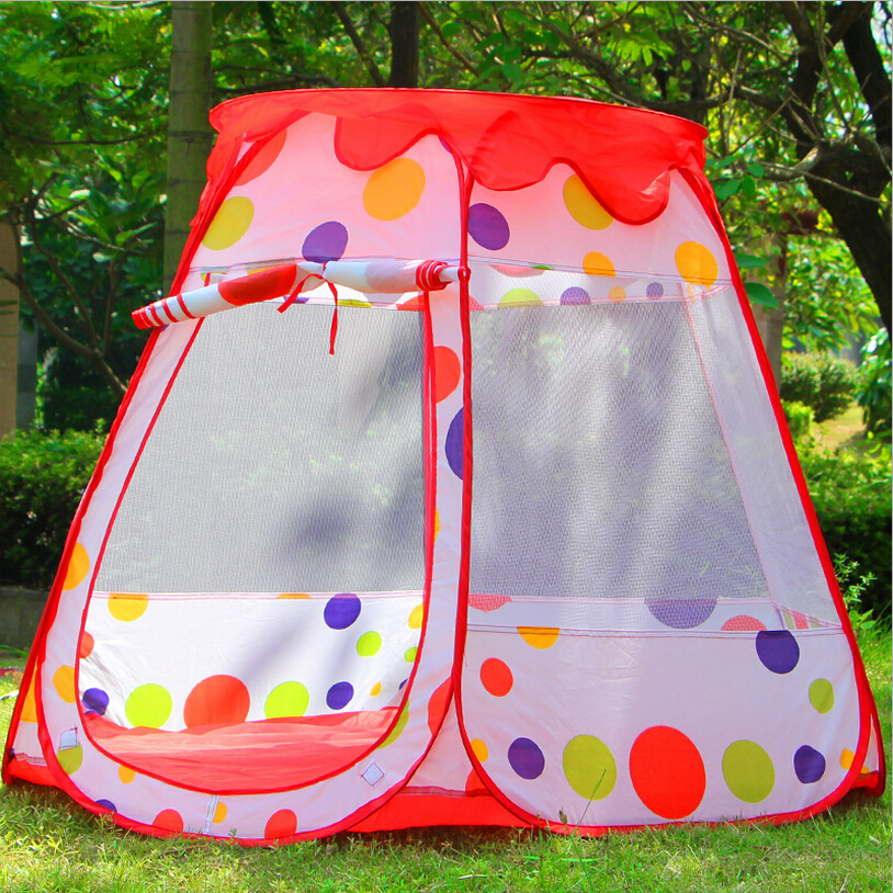 New Large Size Baby Play Tent Kids Game House Child Cute Kids Play Tent Pretty Indoor And Outdoor Play Tent ,Child Birthday Gift