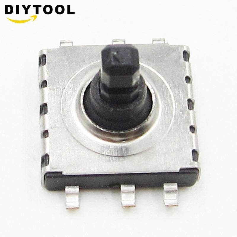 5pcs 5 Direction way Tact Switch SMD 6 Pin 10*10*9mm Navigation Button Parts SHN