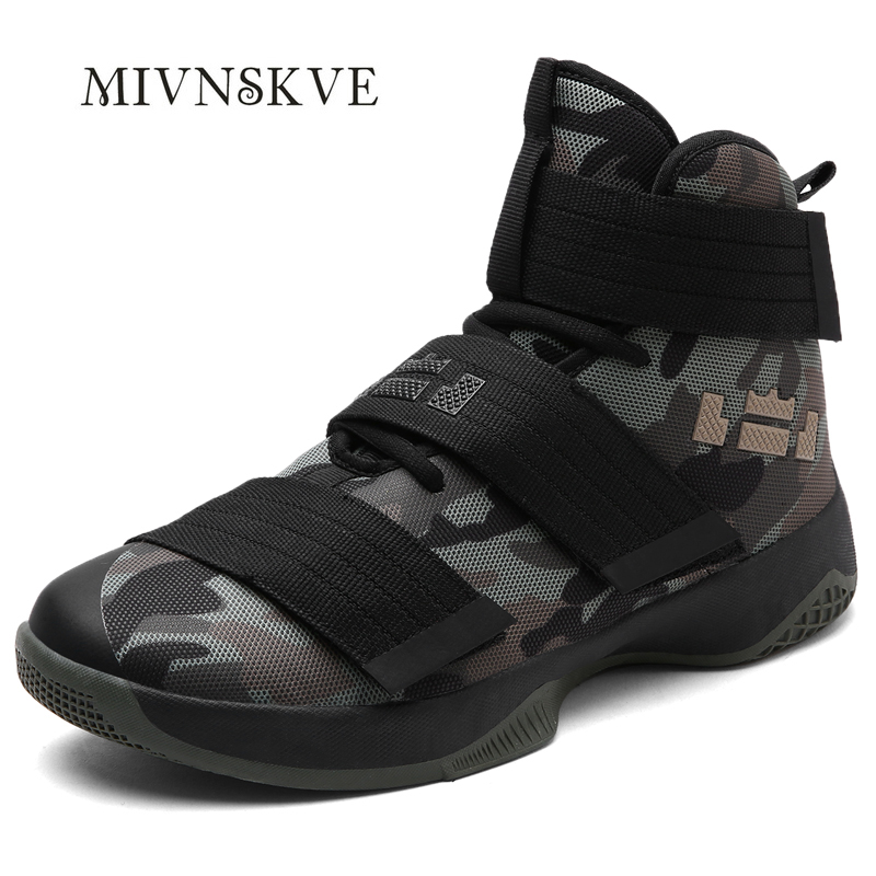 ФОТО MIVNSKVE 2017 New Arrival Army green Quality cheap High-top Basket lovers Shoes Men Casual Sport Trainers Zapatilla Hombre 36~45