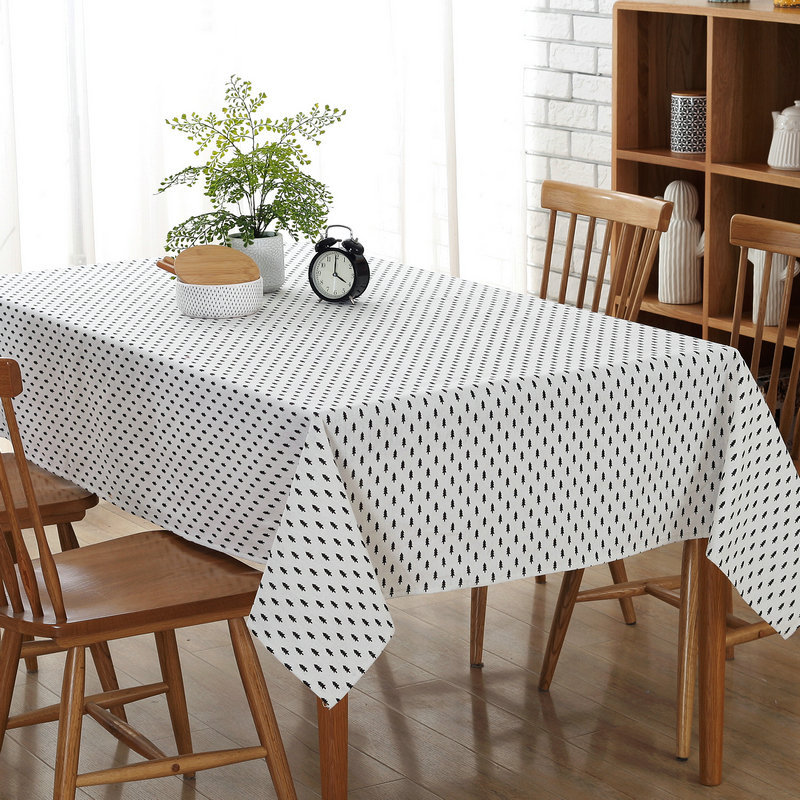 Fashion Hot Sale Tablecloths Restaurants Home Hotel Dustproof Tablecloth Wedding Party T ...