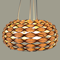 Hemp Pendant Lights personality creative ball rattan bird nest lamp rattan Nordic restaurant lamps LU630 ZL42 YM