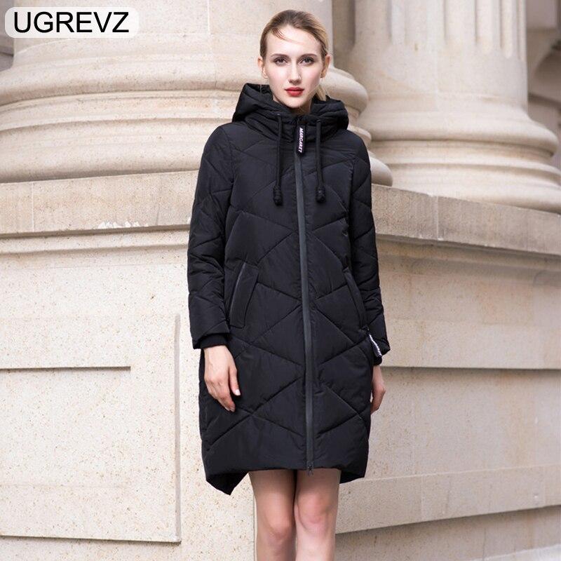 D'hiver 7xl Parka Solide Femmes 2018 Long Chaud Longue Femelle Manteau À 160black Capuche Lâche Outwears La Veste Taille Plus 1dqTSwS