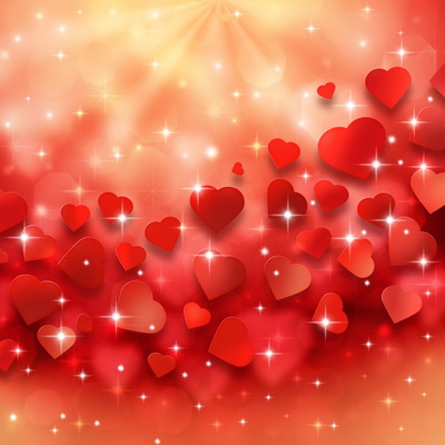 valentine's day photography background printed with red hearts and, Ideas