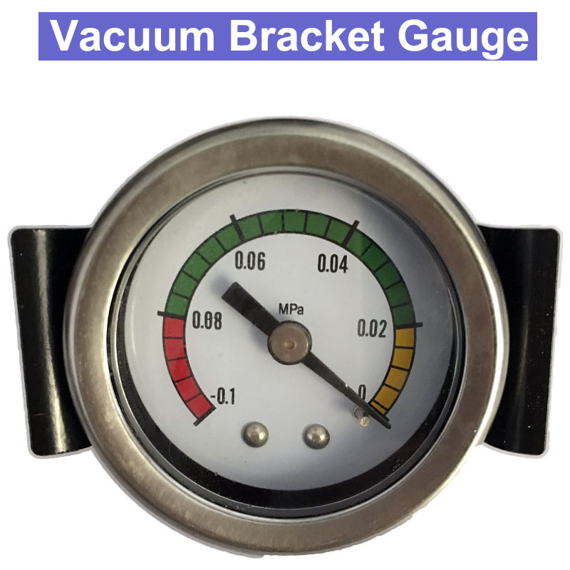 Hight Quality Shock-Proof -0.1Mpa Vacuum Bracket Pressure Gauge