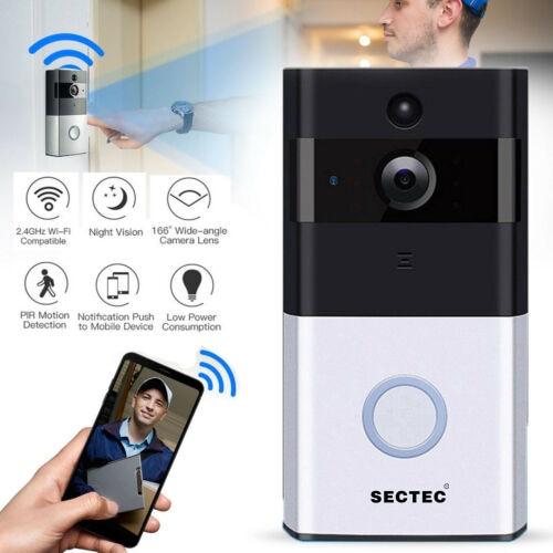 INQMEGA Wifi Video Doorbell Phone Wireless Doorbell Waterproof Remote Smart Door Bell For Apartments IR Alarm Wireless Securit