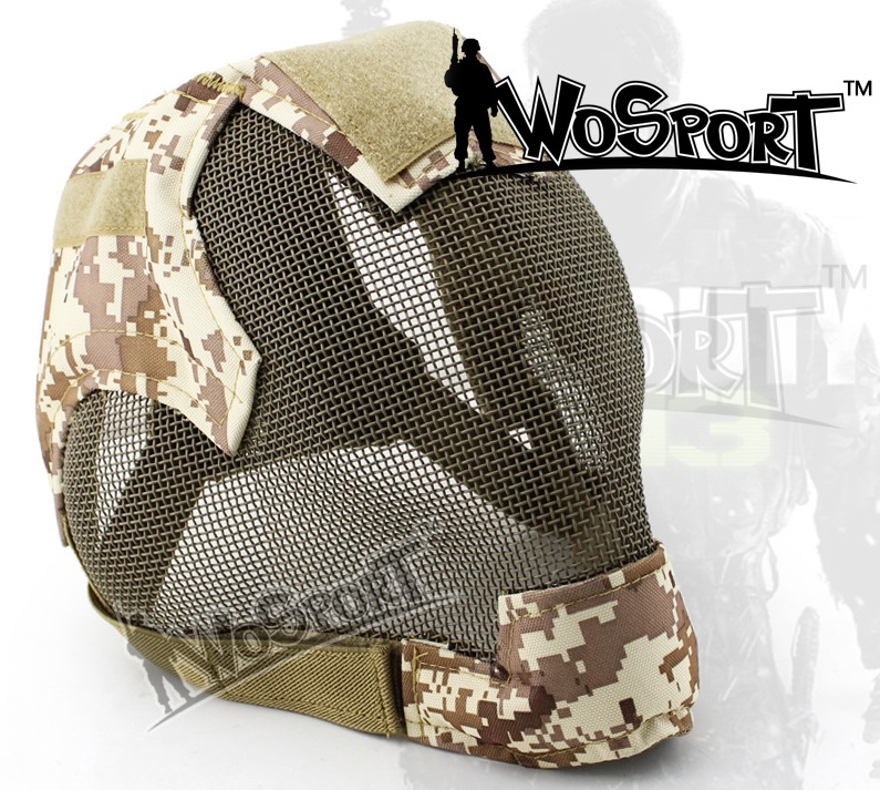 Full face metal steel mesh protector helmet Military Tactical Mask combat for airsoft paintball wargame outdoor sports 14 colors outdoor green paintball airsoft wire mesh full face protection templar mask cosplay wargame gear helmet free shipping