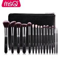 MSQ Professional 15 Pcs Makeup Brushes Set For Women Fashion Soft Face Lip Eyebrow Shadow Make