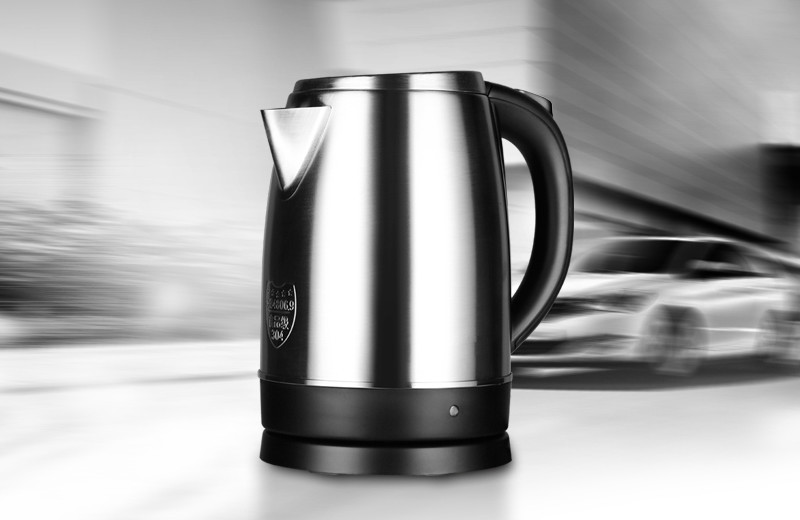 лучшая цена Electric kettle boiling water pot cooking food grade 304 stainless steel 1.7 L