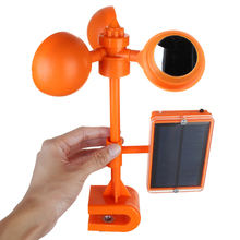 Voice Solar Power Repellents Crows Deterrent 360 Degree Rotary Birds Repeller Scarer Outdoor Orchard Garden Pest Control Tools