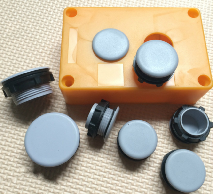 10Pcs 22mm Button Panel Plug Button Hole Plug Button Box Hole Plug Signal Button