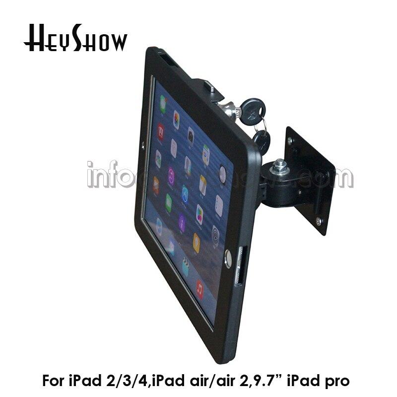 Настенное крепление для планшета Ipad безопасный замок стенд киоск Противоугонный чехол для безопасности для Ipad 234 Air-0