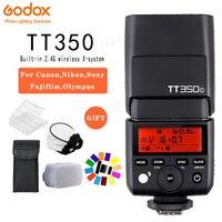 Godox TT350C TT350S TT350N TT350O TT350F TT350P Mini Portable Flash TTL HSS Speedlite For Sony Nikon Canon Olympus Fuji Pentax