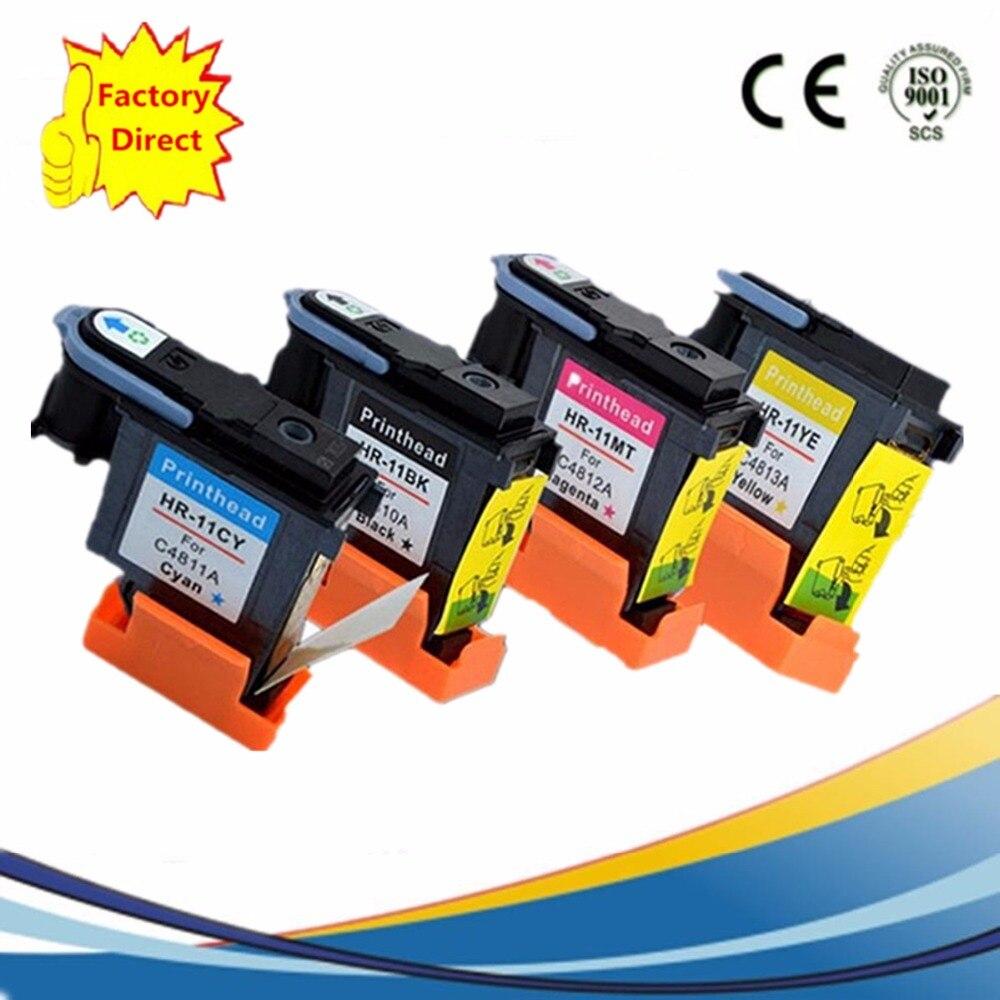 Druckkopf Druckkopf Remanufactured Für HP11 HP 11 C4810A C4811A C4812A C4813A Designjet...