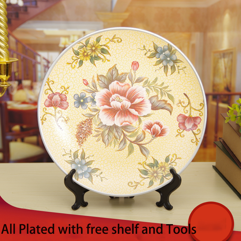 Modern Decorative Wall Hanging Plates Ornament - Wall Art Design ...