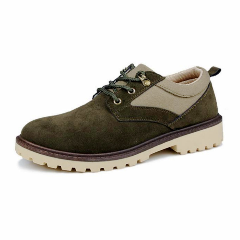 Cordones Negro caqui Cpi Casuales 11 Para Pp Zapatos Transpirable 2018 Resistentes Hombre Trabajo Con Nuevos Cuero Militar verde Planos Al De Desgaste Cómodos SBHSZwqxpW