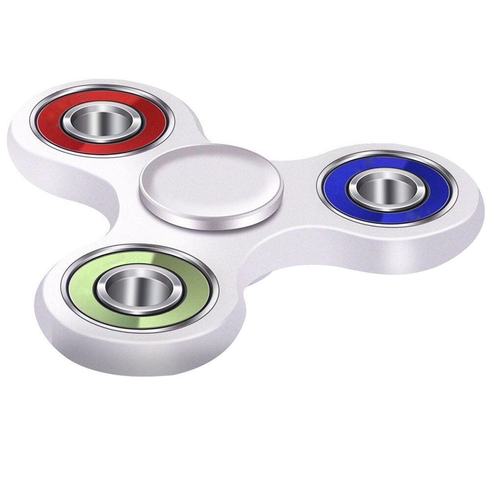 Для взрослых и детей анти-беспокойство стресса фокусировки стороны Spinner гироскопа игрушка подарок