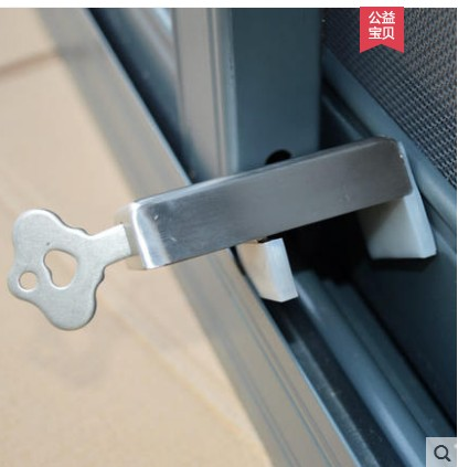 Steady Easy Kids Baby Safety Security Sliding Window Locks For Push-pull Door Children Safety High Quality Child Lock Child Safe Locks Special Buy Safety Equipment