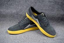 2016 Teenagers Board Shoes LAKAI Black Anti-Fur Boy Hard-Wearing Deck Shoes new design arrived