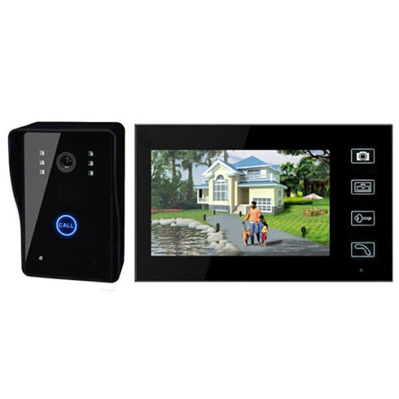 2.4 г Главная 7 Беспроводной Видеодомофоны Дверные звонки двери безопасности телефона Камера Системы