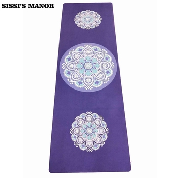 Folding Natural Rubber Yoga Mat eco-friendly slip-resistant Hot Yoga best yoga mat for hot yoga Fitness Gym mat 3lotus