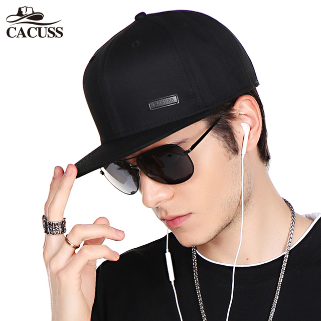 CACUSS New Baseball Hat Flat Hat Round Cap Male Korean Style Men Hip-hop Cap 3e26b292e9a6