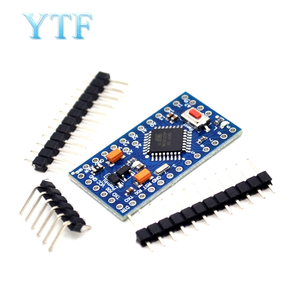 1Pcs ATMEGA328P Pro Mini 328 ATMEGA328 5V/16MHz For Arduino