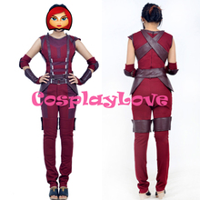 New Custom Made High Quality America Movie Marvel Comics Guardians of the Galaxy Nebula Cosplay Costume Dress For Halloween