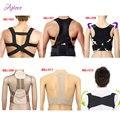 2016 New Posture Corrector Male Corset Back Belt Straightener Band Brace Shoulder Corretor De Postura Suporte Belt Unisex ,Child