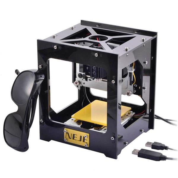 300mW USB Laser Engraver Box/Laser Engraving Machine/DIY Laser Printer 300mw automatic diy laser engraver laser cutter 5v laser engraving machine usb interface protect glasses
