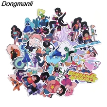50pcs Steven Universe theme PVC Scrapbooking for home decor wall notebook phone luggage laptop bicycle album stickers M2612 homegaga 60pcs steven universe pvc waterproof cartoon for scrapbooking album luggage skateboard phone wall guitar stickers d1290